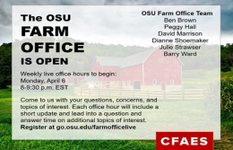 The Farm Office is Open