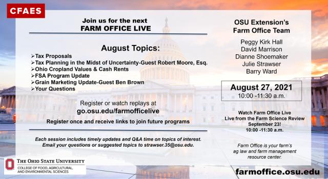 Farm Office Live Promotional Postcard