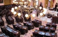 Chamber of the Ohio House of Representatives
