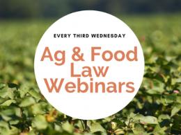 Ag and Food Law Webinars