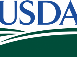 Photo of the U. S. D. A. logo.